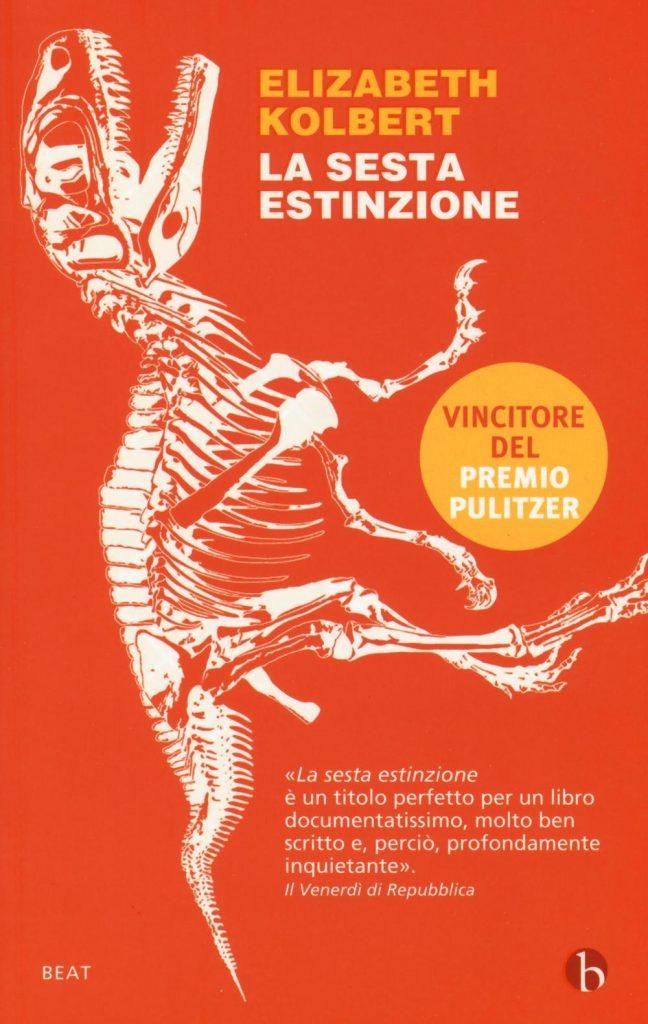 Copertina del libro La sesta estinzione